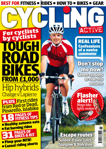 Cycling Active October 2011 cover
