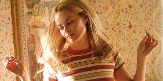 Margot Robbie as Sharon Tate dancing in Once Upon A Time In Hollywood