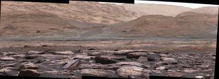 purple mars rocks