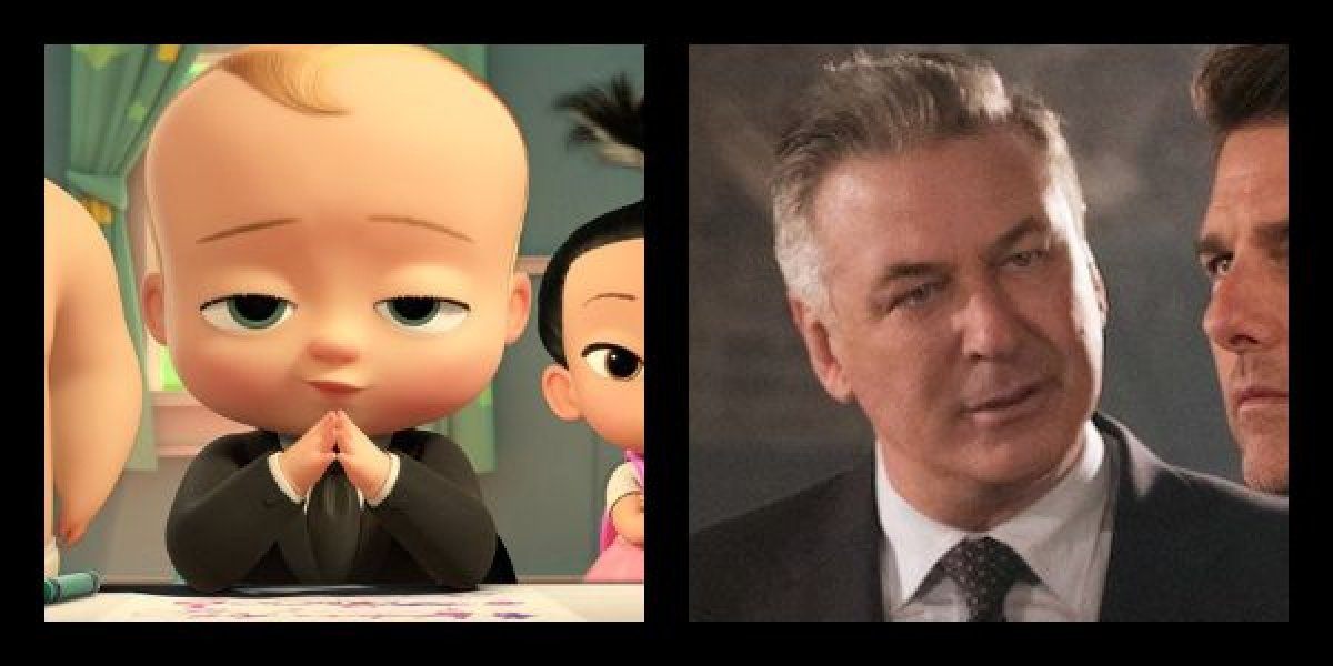 Alec Baldwin plays Ted Templeton in The Boss Baby: Family Business.