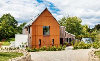 Self-build with corten cladding