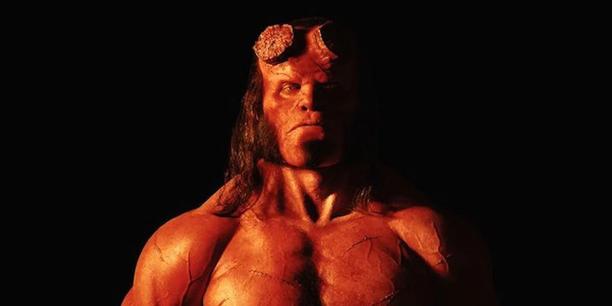 David Harbour as the rebooted Hellboy for 2019