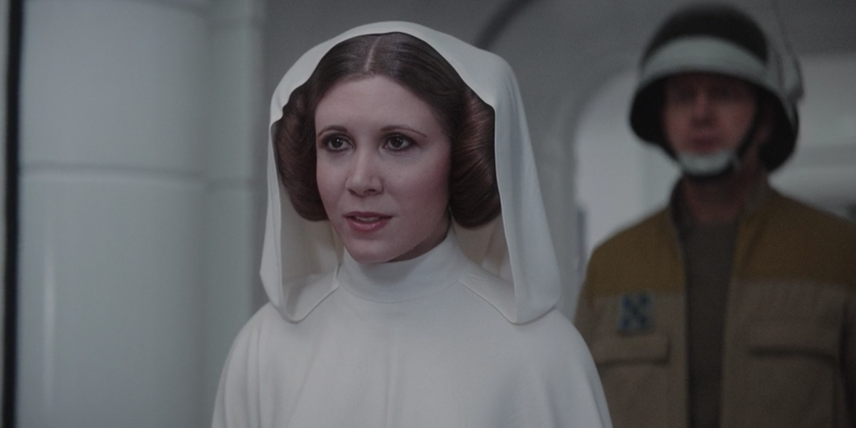 Leia in Rogue One