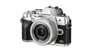 Best travel cameras; Olympus OM-D E-M10 Mark IV
