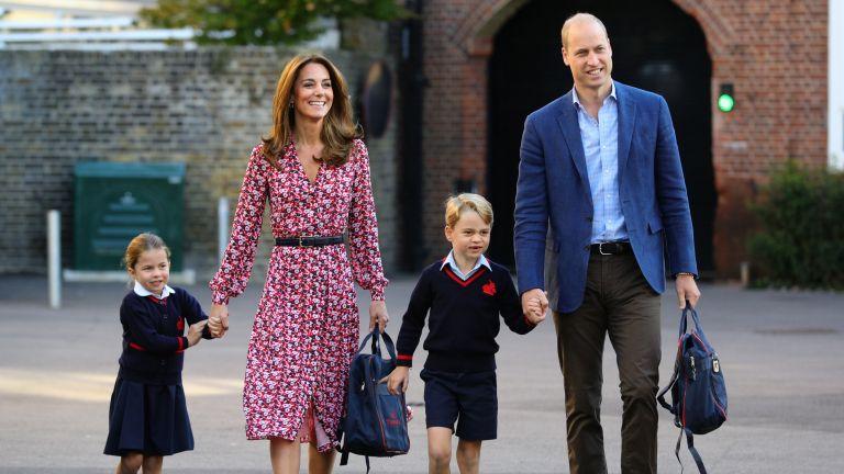 Kate Middleton Prince William parenting Cambridge kids
