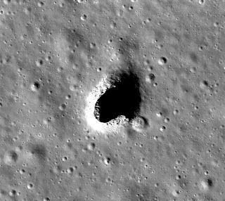 Moon lava tube
