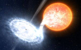 Binary Black Hole ESO 1920