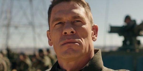 John Cena as Agent Burns in Bumblebee