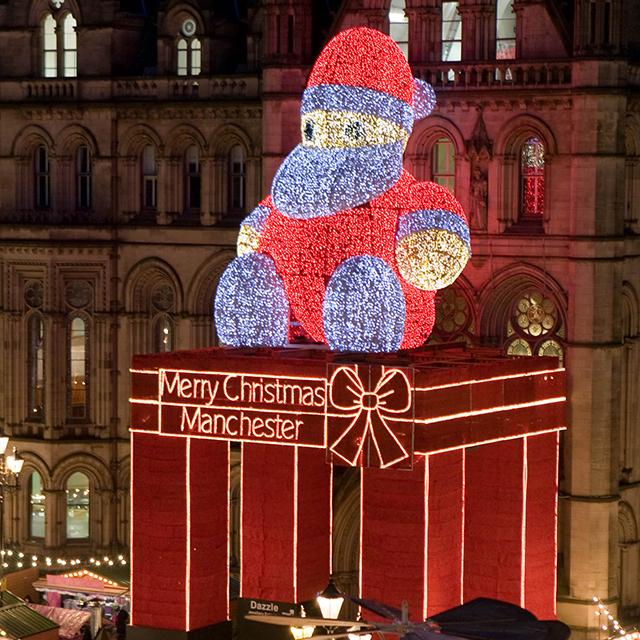 Manchester Santa