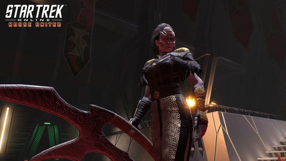Star Trek Online' launches new season with familiar faces amid a Klingon civil war