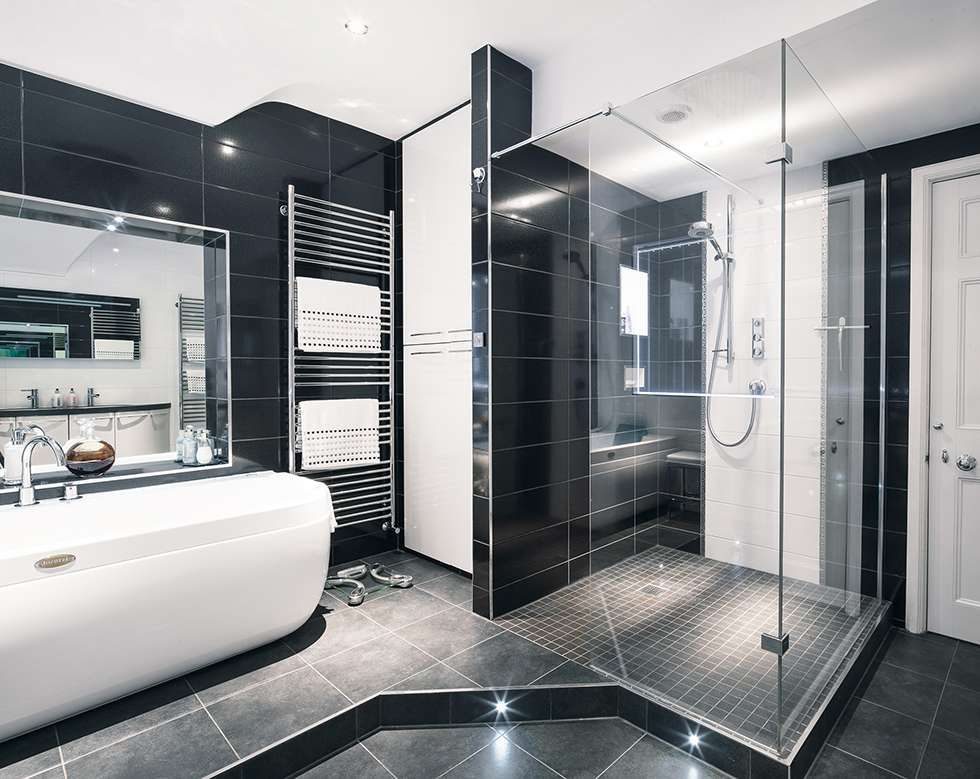 Modern Monochrome Bathroom Real Homes