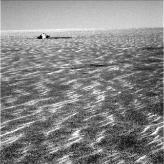 Opportunity Rover to Prowl its Entry Debris for Mars Secrets