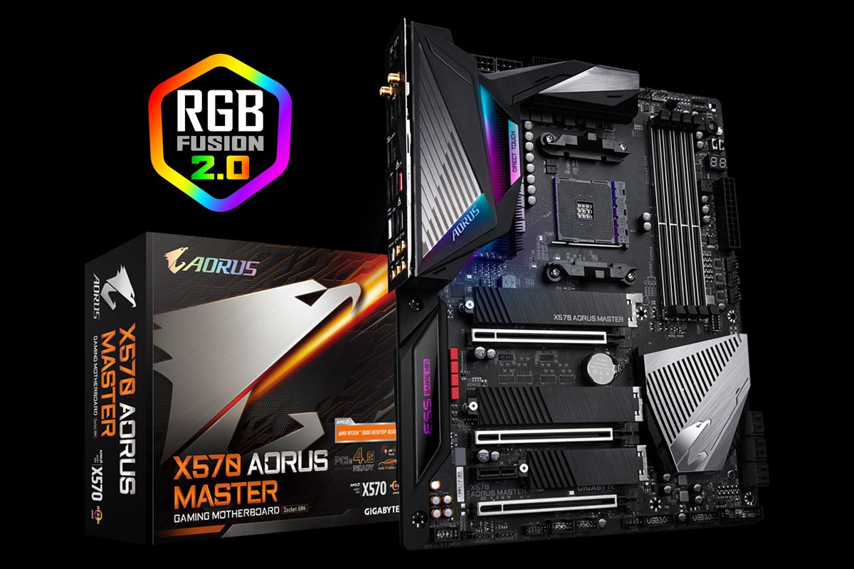 Gigabyte X570 Aorus Master Review Expansion And M 2 Aplenty Tom S Hardware Tom S Hardware