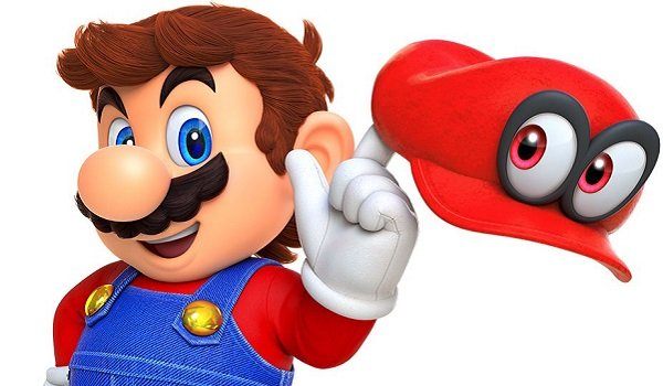 nintendo Mario with his hat