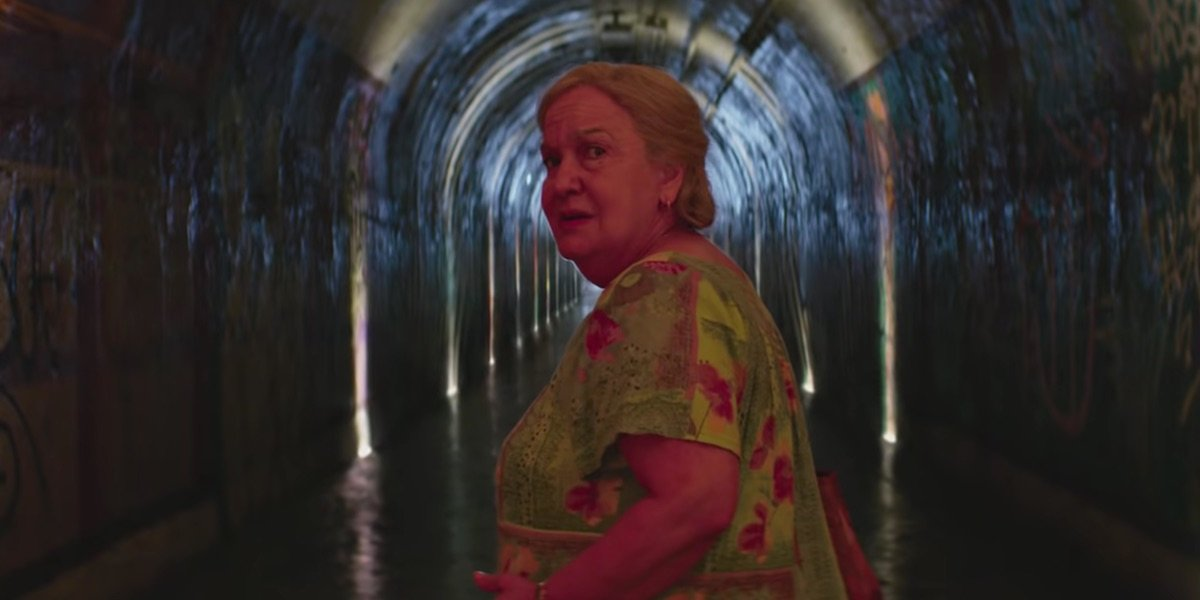 Abuela Claudia in the In the Heights trailer