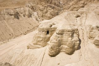 Images of the newfound cave have yet to be released. Here, the caves of Qumran that were discovered between 1947-1956