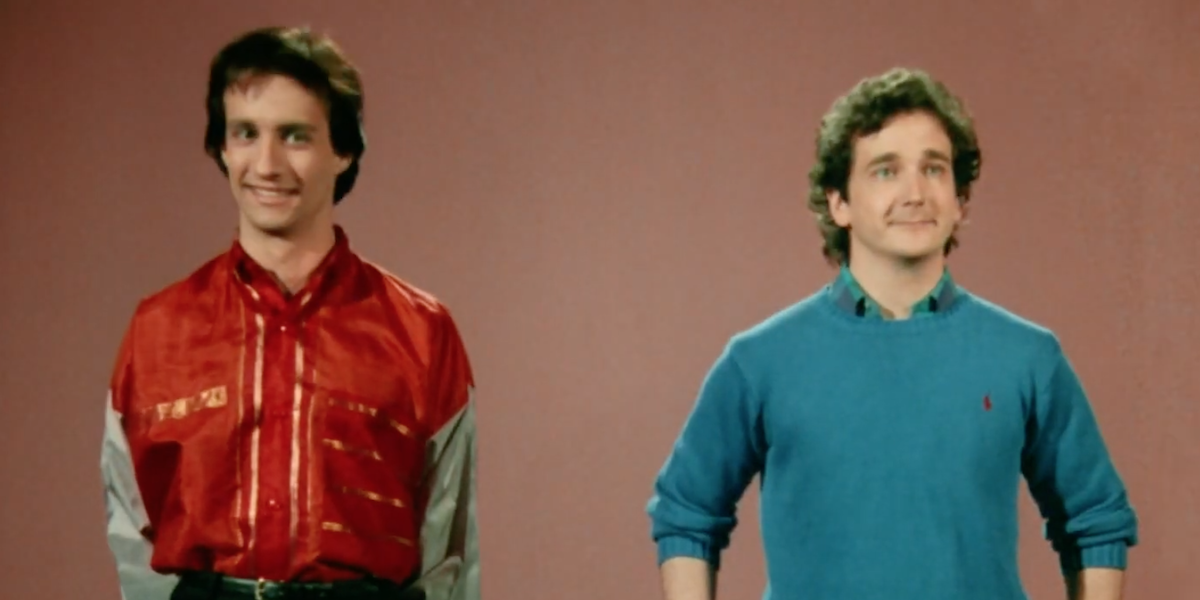 Balki and Larry Perfect Strangers opening credits