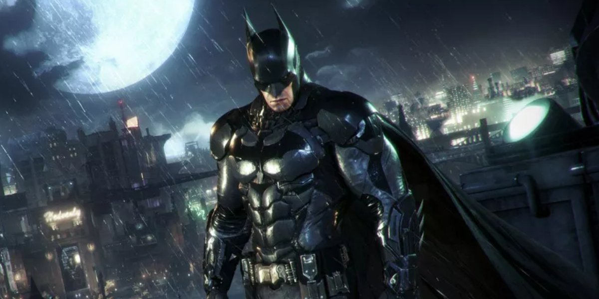 The design of the Batman suit for the Arkham video game series