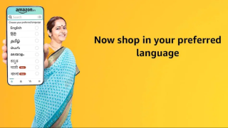 Amazon India uses regional Indian languages to lure more customers