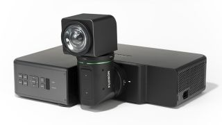 Fujifilm's ultra short throw laser projector