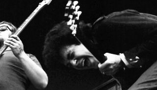Mike Bloomfield performs with The Electric Flag at the Monterey Pop Festival in 1967.