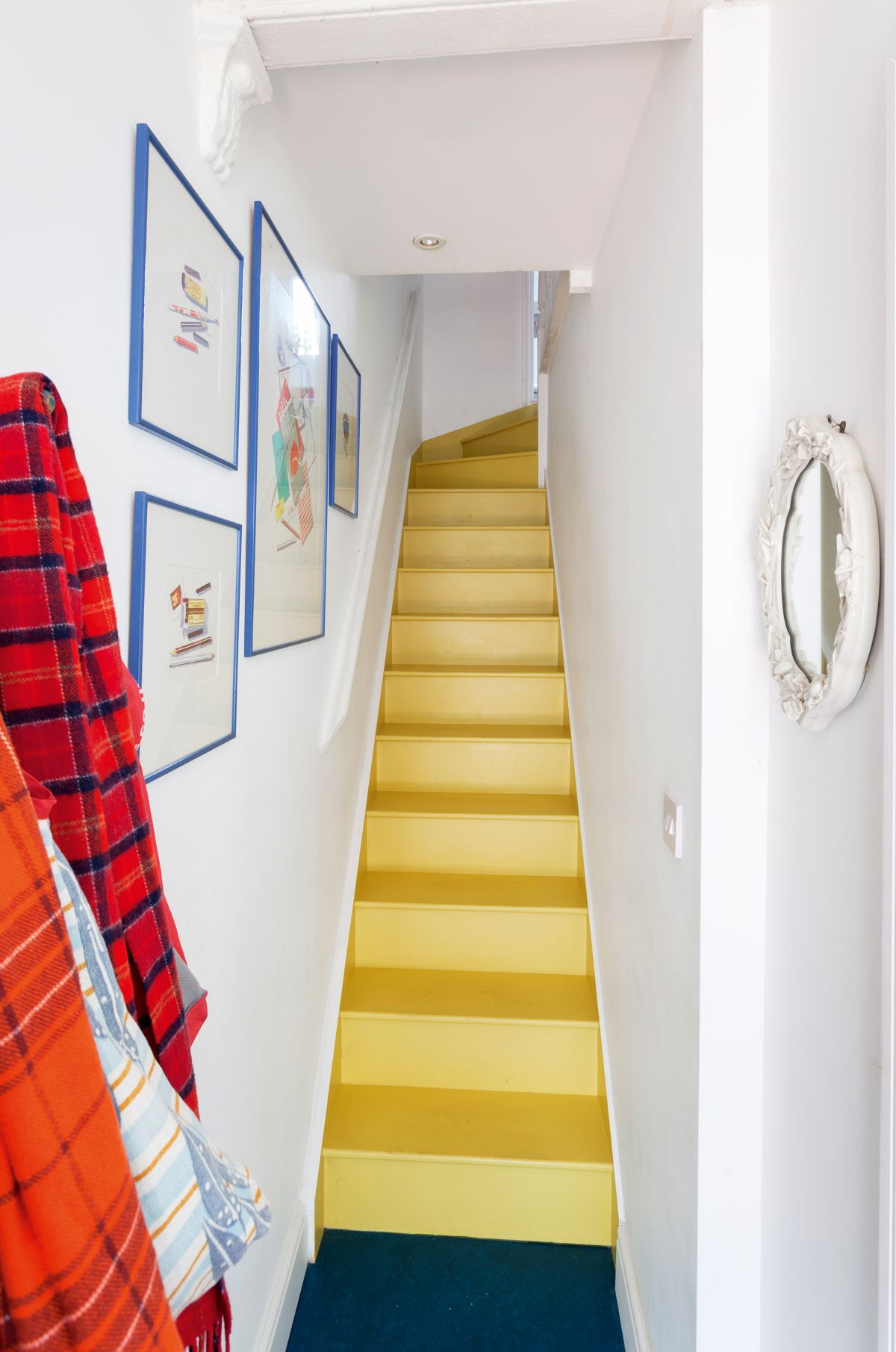 How To Paint Your Stairs Ideas And Tips Real Homes