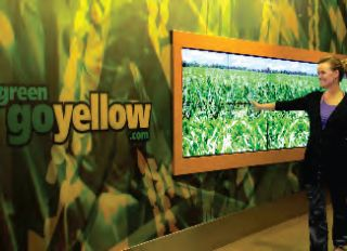 GestureTek Launches Enhanced Interactive Display System