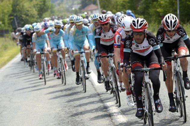 Machado chase, Giro d'Italia 2013, stage 16