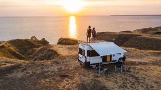 camper vans vs tents