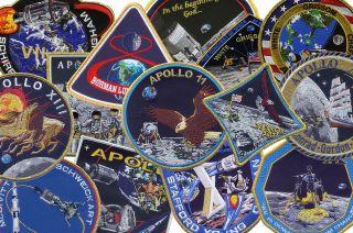 apollo 50th mission patches spirit