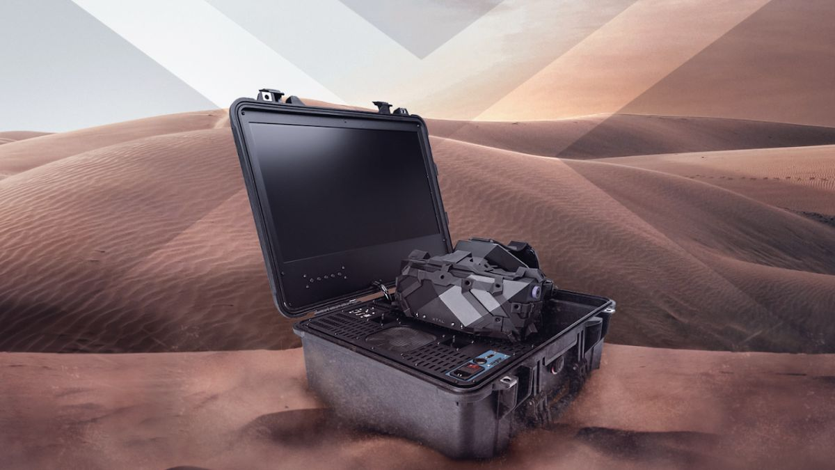 This professional VR headset arrives in a military-grade suitcase with a PC included