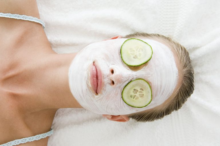 When are facial treatments allowed in beauty salons across the UK?