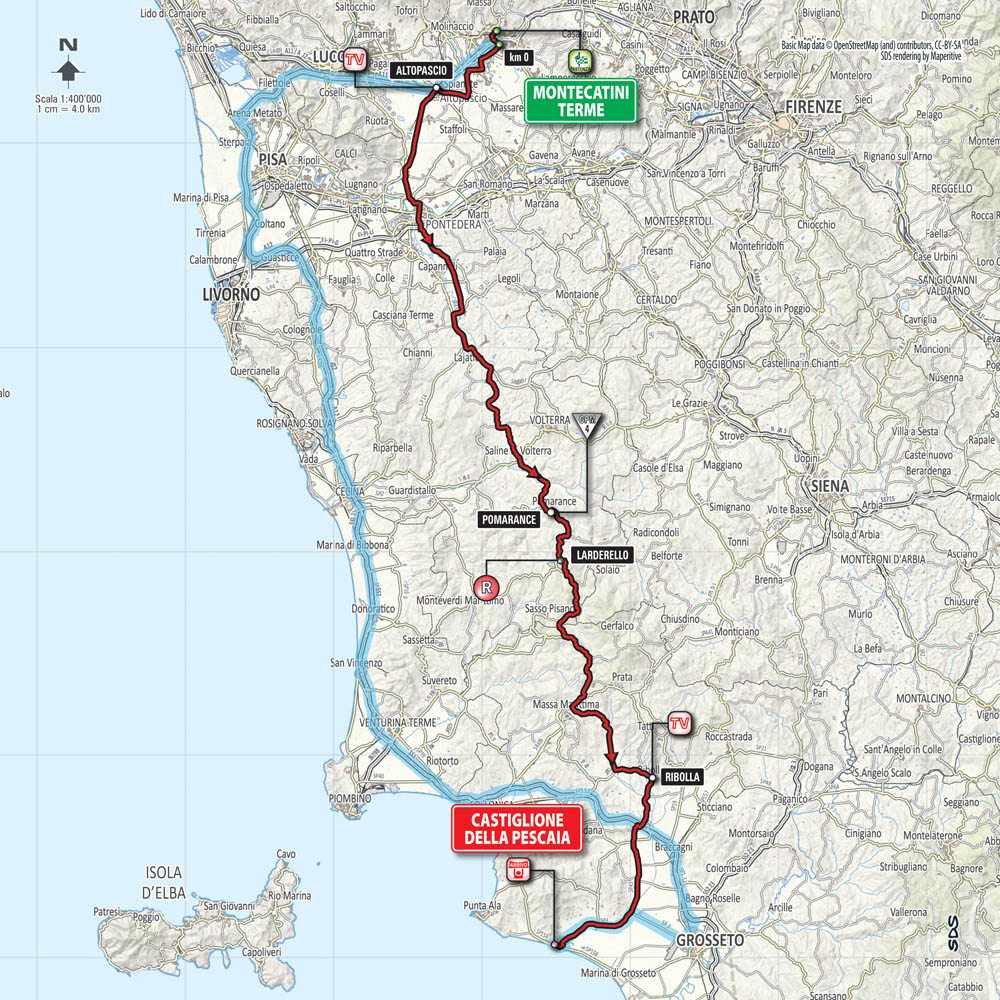 Giro d'Italia 2015 stage 6 preview