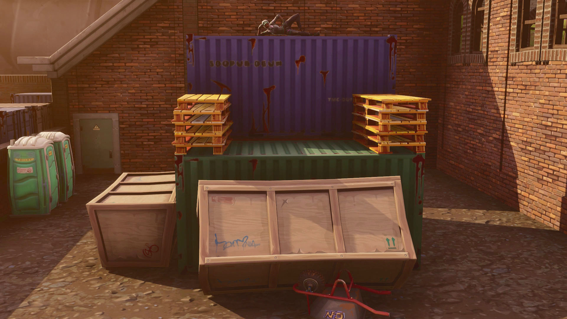 search between three oversized seats fortnite season 5 week 8