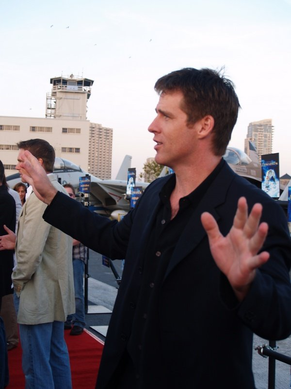 Comic Con: Aircraft Carrier Premiere Of Stargate Continuum #2794