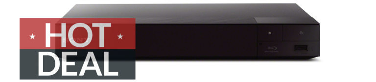 Sony 4K upscaling 3D streaming Blu-Ray player Walmart Christmas deals