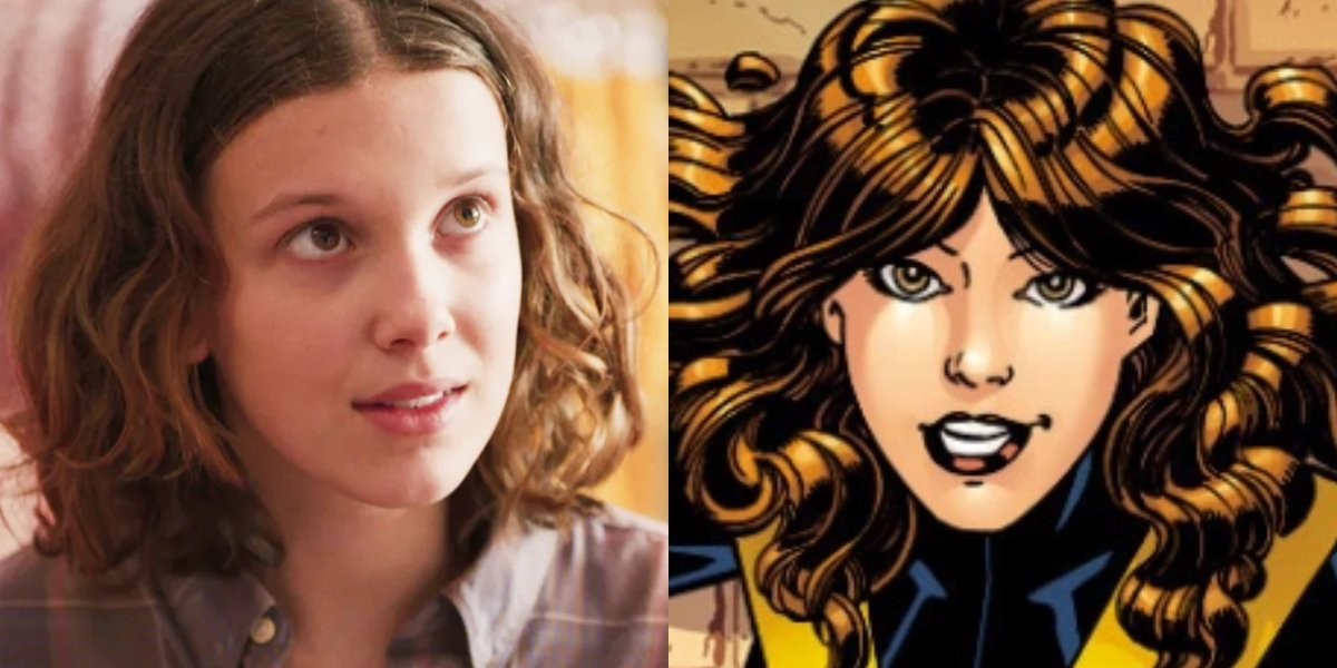 Stranger Things' Millie Bobby Brown and Kitty Pryde of X-Men