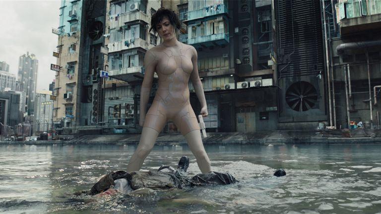 Ghost in the Shell VFX interview: volumetric pixel drag, silicone skin, holographic actors and more