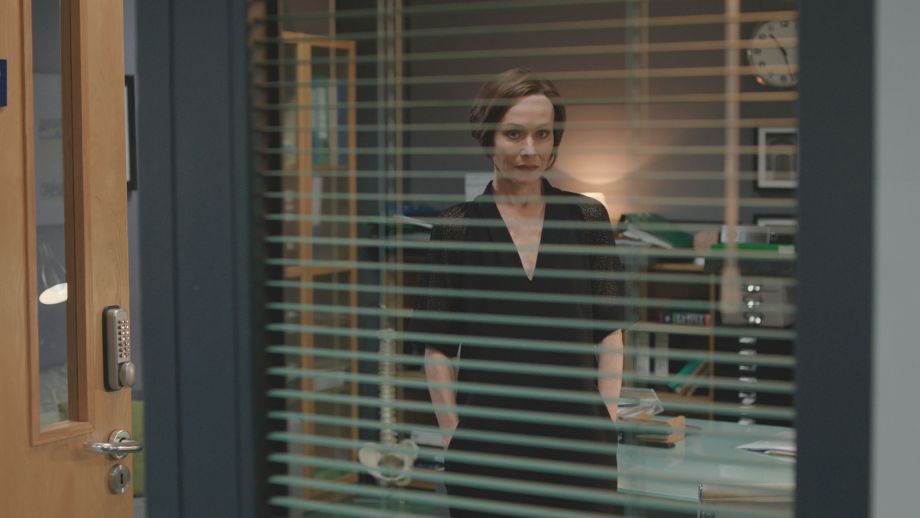 Connie cuts a lonely figure in Casualty