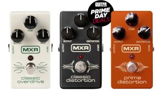 MXR overdrive and distortion pedals