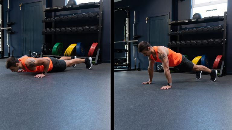 What is the easiest push up variation?