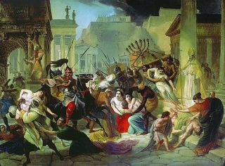 'Sack of Rome,' by Karl Briullov