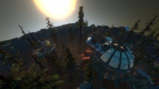 An alien village in Outer Wilds