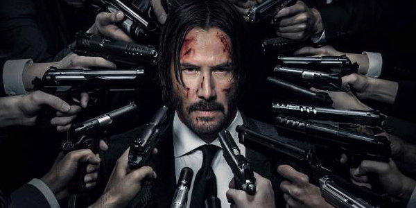 Keanu Reeves John Wick Chapter 2 Poster