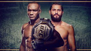 UFC 261 Usman vs. Masvidal 2 promotional banner.