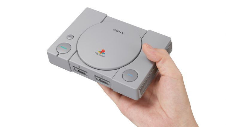 PlayStation Classic is a mini, high powered version of the PS1, with 20 games installed and launching this December