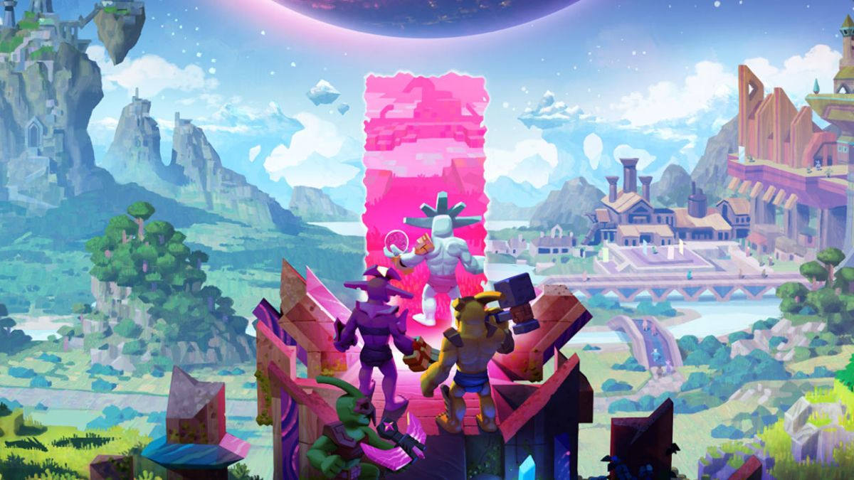 Boundless blends the freedom of No Man's Sky with the creativity of Minecraft for a serene, quietly spellbinding MMO