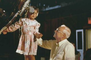 Frank Drake with a young observer at the Lick Observatory