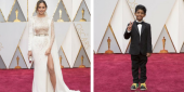 Chrissy Teigen Hugging The Kid From Lion At The Oscars Is Too Cute