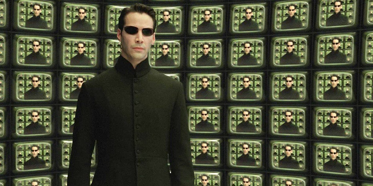 Neo in The Matrix Reloaded
